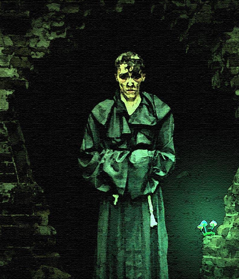 Подземелец.Картина неизвестного автора.